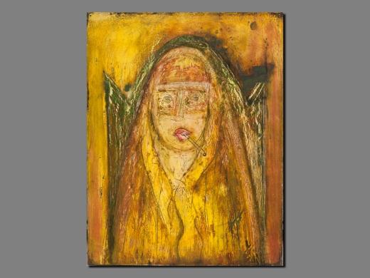 Djamila, Peinture de Akka